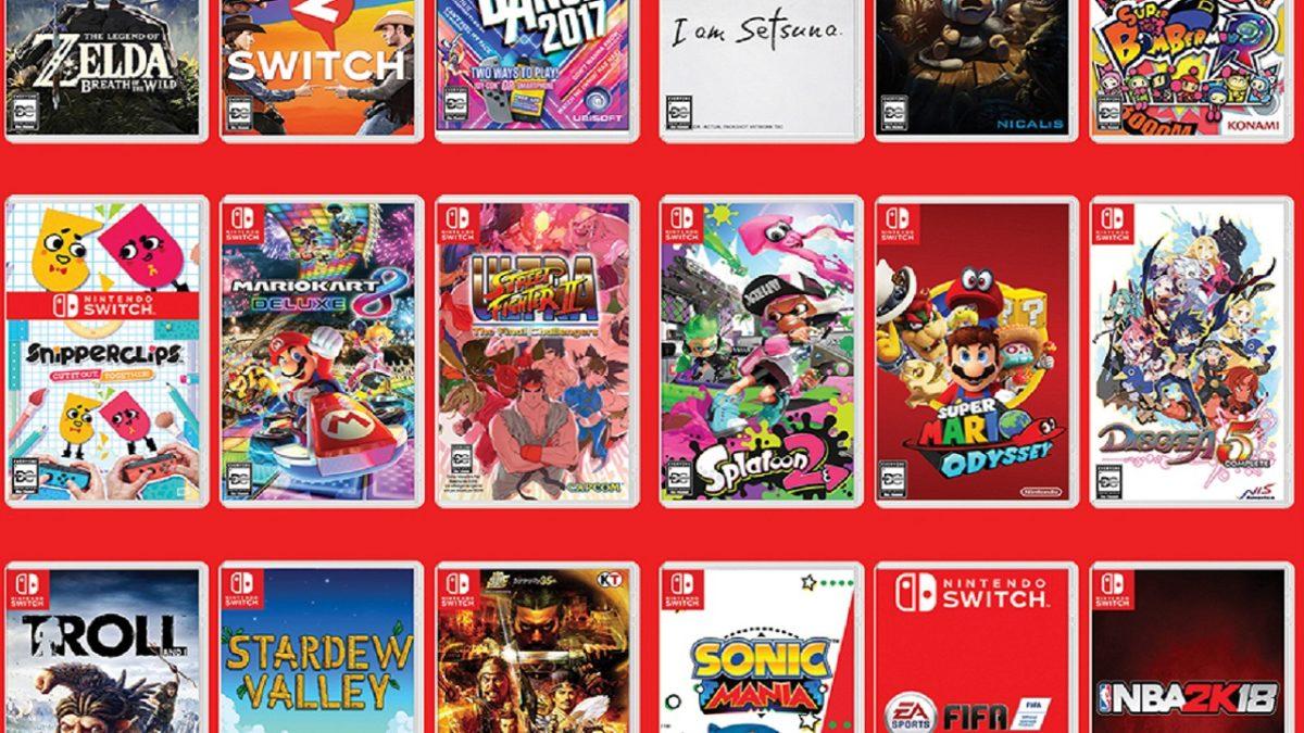Ofertas importantes en juegos para Nintendo Switch